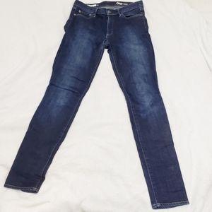 🆕 Gap 1969 Skinny Dark Wash Denim Jeans 29 Tall